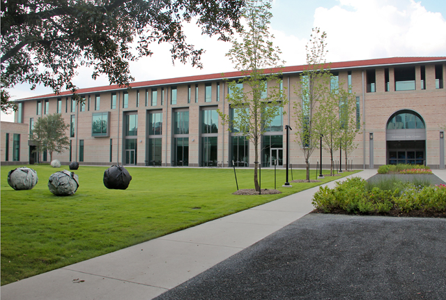 Anderson-Clarke Center. Photos: Allyn West.