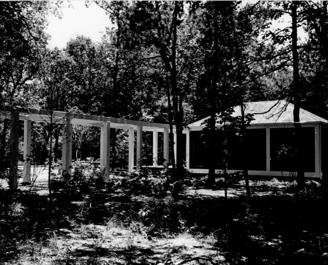 Trailwood Village greenbelt system, Kingwood, Charles Tapley and his associates. Photo: Courtesy of the architect.