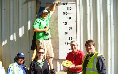 Joyce Powell, Sarah Mason, Bryan Blackburn, Tom Flynn, and Keith Koski, photo courtesy reuse warehouse