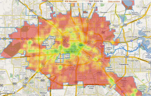 What Parts Of Houston Are Walkable  OffCite Blog