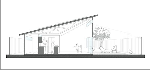 New inversions re thinking the habitat for humanity house for Clerestory roof truss design