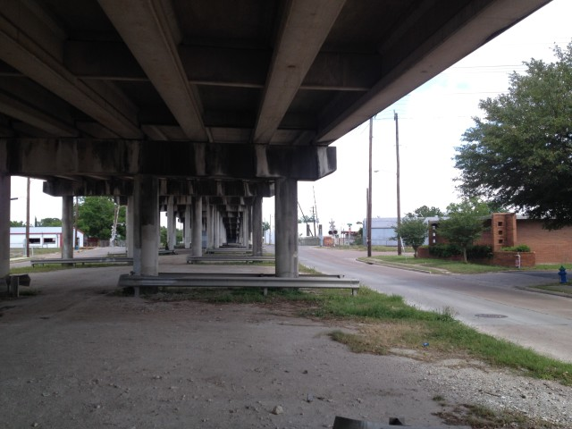 Navigation Boulevard overpass. Photo: Allyn West.