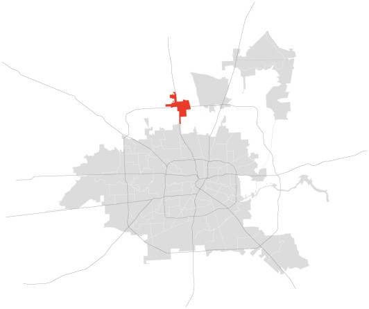 Location of Greenspoint.