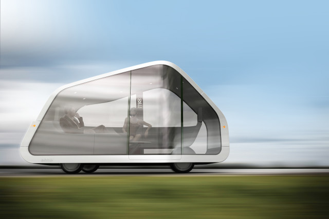 ATNMBL, a concept for a driverless car by Mike and Maaike.