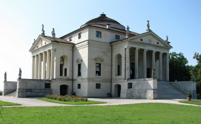 "The ""most famous concept house in history""? Palladio's Villa Rotonda. Photo: Wikimedia Commons."