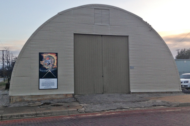 William Blake in Eastland, Texas. Photos: Allyn West.