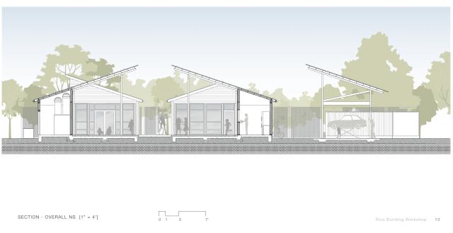 Elevation of Workshop Houston.