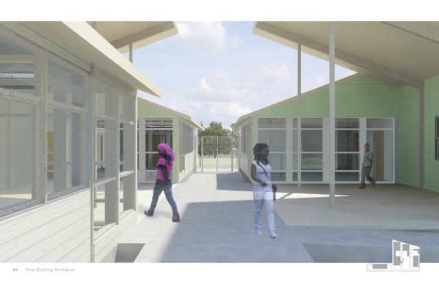 Workshop Houston campus rendering.