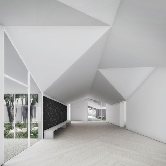Menil Drawing Institute Interior