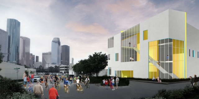 Rendering of Big Brothers Big Sisters building. Courtesy: Agency-Agency.