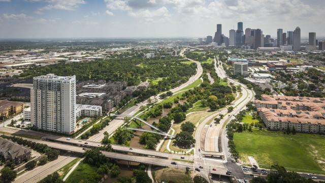 Buffalo Bayou Park. Courtesy: SWA Group.