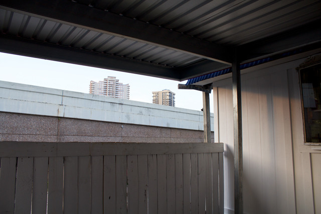 View of Uptown Houston from Bubba's Burger Shack. Photos: David Richmond.