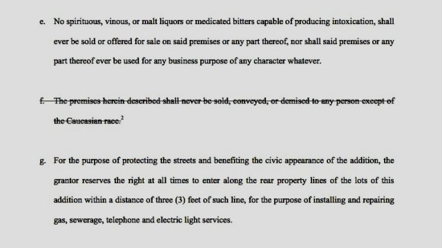 Deed restrictions for Mandell Place in Montrose, Houston. Source: mandellplace.org.