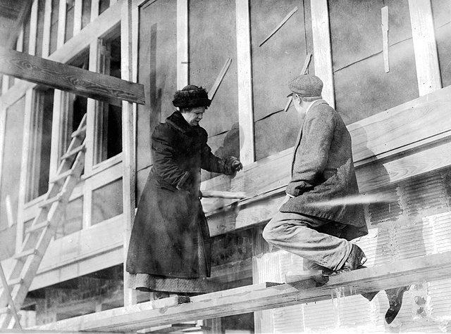 Architect Fay Kellogg in 1912. Courtesy photo.