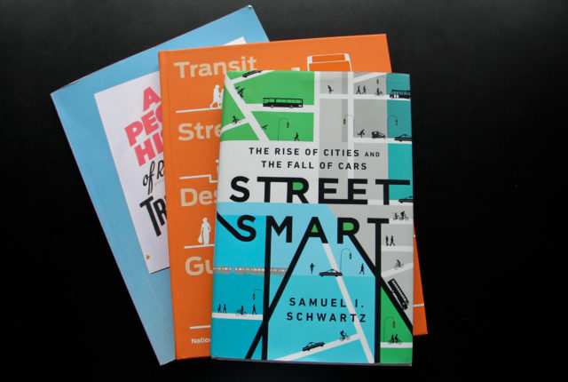 Recent books on urbanism.