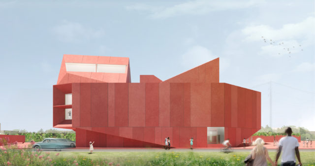 Rendering of Ruby City. Courtesy: Linda Pace Foundation.