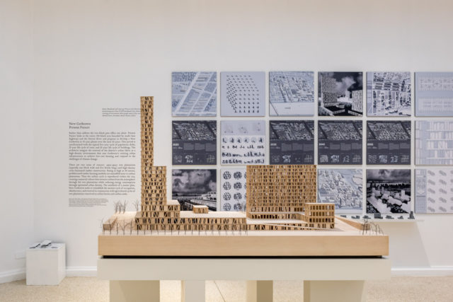 New Corktown proposal by Albert Pope and Jesus Vassallo, US Pavilion, 2016 Venice Biennale. Photo: Peter Molick.
