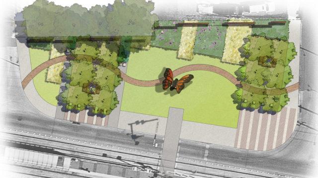 Schematic of Team 2's park design. Courtesy.