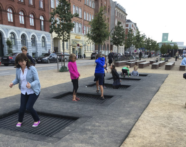 Public art installation in Copenhagen. Photo: Kate Cairoli.
