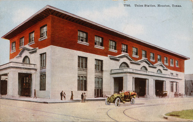 Union Station Building. Image: Houston Metropolitan Resource Center.