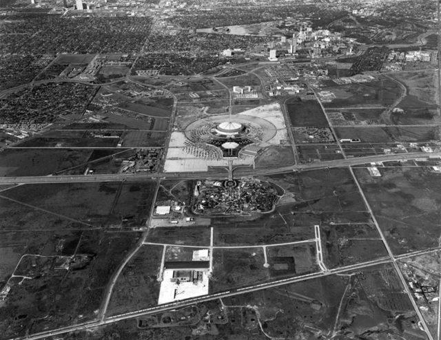 Astrodome, 1977. Photo: Houston Metropolitan Resource Center.