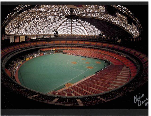 Astrodome interior taken 1999. Photo: Chris Dana.