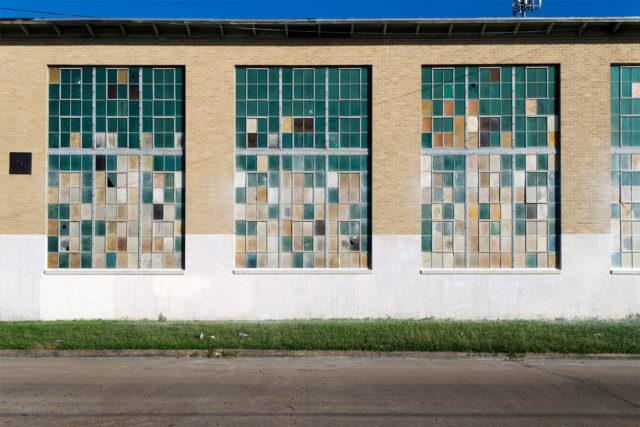Industrial façade in East End. Photo: Jae Boggess.