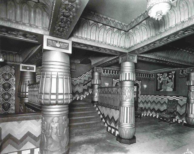 Metropolitan Theater interior. Photo: Houston Metropolitan Research Center.